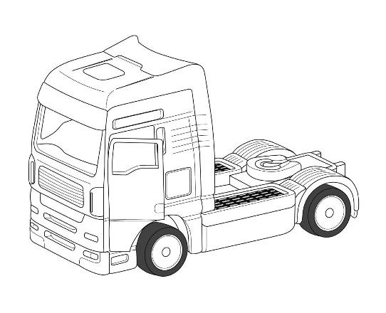 lorry-cab-drawing